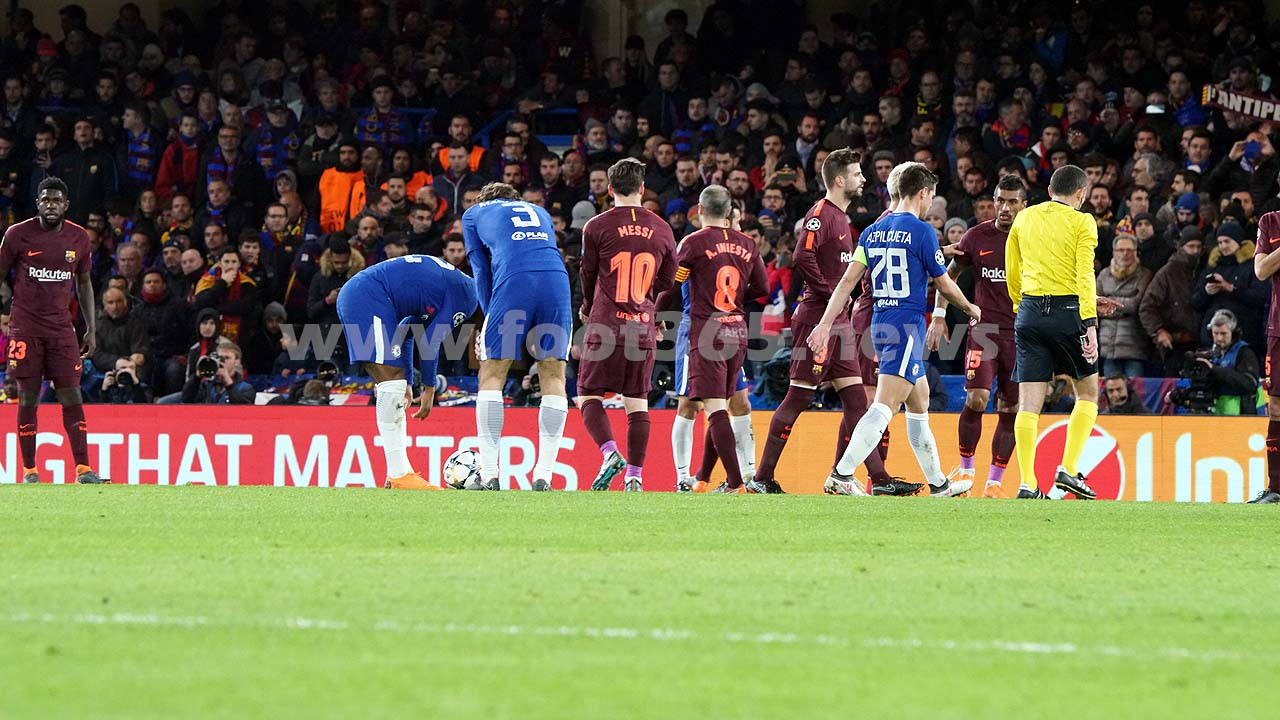 Chelsea FCBarcelone 046