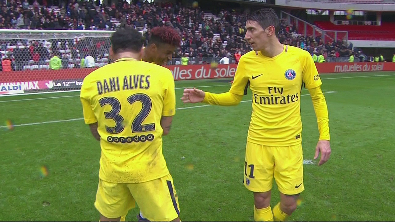 Nice 1 – PSG 2 : La volonté n'a pas suffi pour faire plier les parisiens ( vidéo)