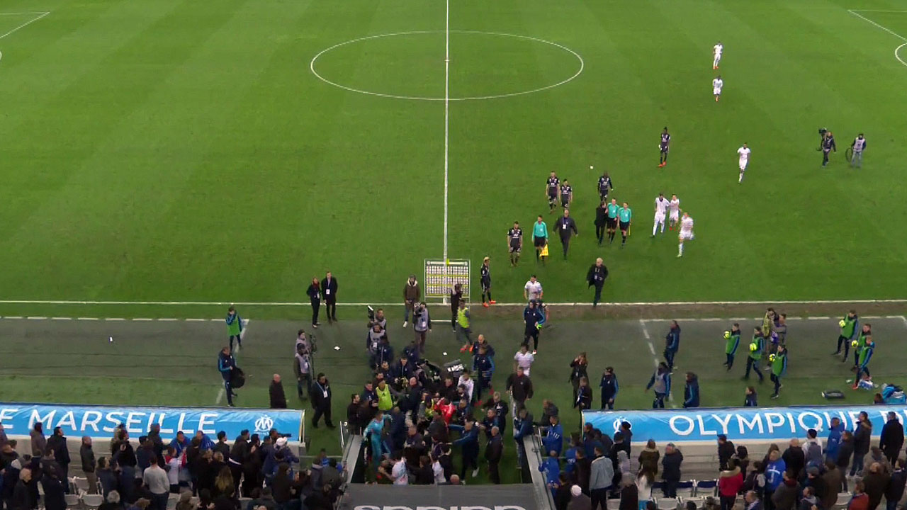 Ligue 1  conforama : Marseille 2 – Lyon 3, une fin de match houleuse