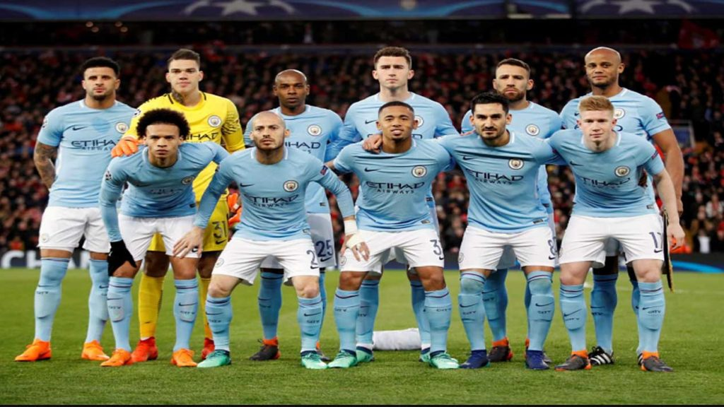 Angleterre : Liverpool 1 – Manchester City 4