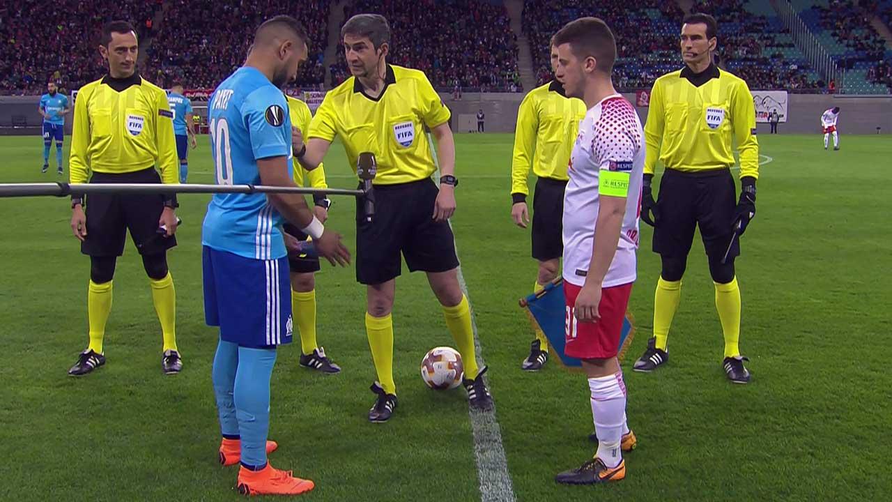 Quart de finale europa ligue : Marseille s'incline à Leipzig (1-0)