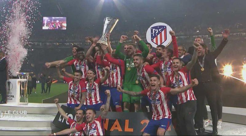 Finale europa ligue : L'Atlético domine Marseille 3/0 avec un doublé de Griezmann