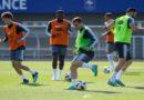 Equipe de France  : Premier entraînement: sous le soleil, sans Dembélé