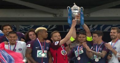 Le Paris Saint Germain remporte sa 12 éme coupe de France face à Herbiers (2-0)  ( vidéo)