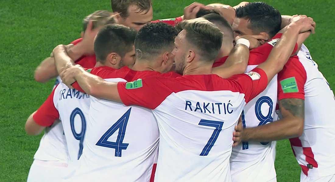 Mondial 2018 – Groupe D : La Croatie domine le Nigéria 2-0 ( vidéo)