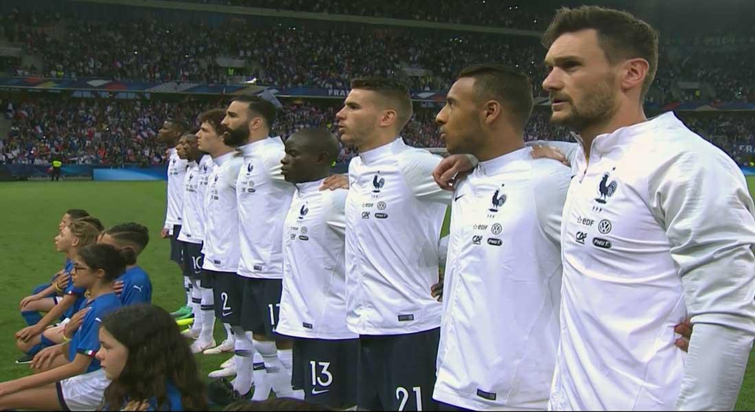 France 3 – Italie 1 : Les bleus sur une belle série