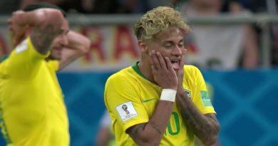 Amical : Brésil et le Nigéria se neutralisent 1-1 et Neymar sort blessé, vidéo