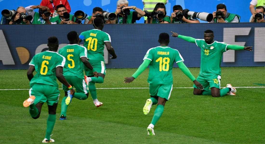 Mondial 2018 : Le Sénégal offre la première victoire lors de ce mondial à l'afrique