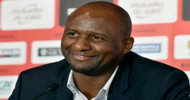 Ligue 1: Vieira à Nice, retour en France comme nouveau défi