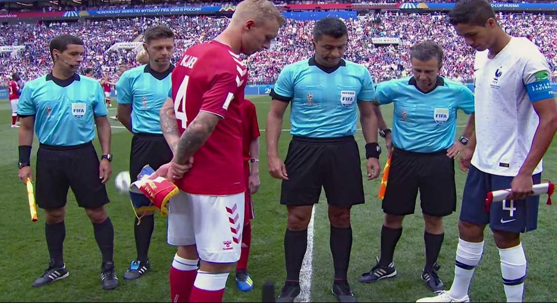 Mondial 2018 : France 0 – Danemark 0 , les bleus restent leader sans prendre de risque