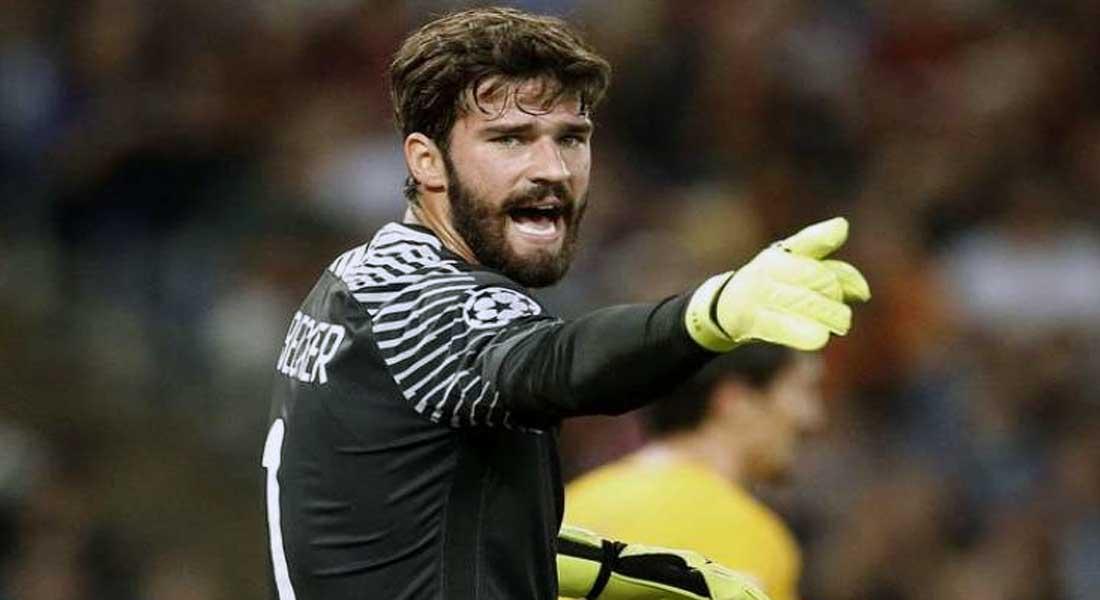 Liverpool : Les Reds engagent le gardien Alisson ( AS Roma), pour 72,5 M€