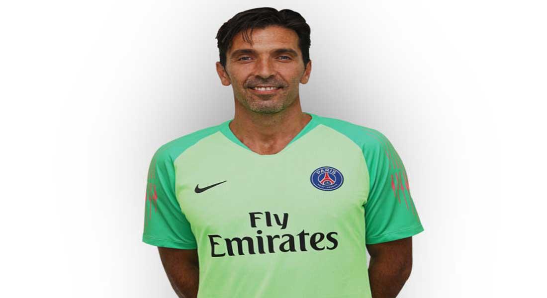 Ligue 1 Conforama – PSG : Buffon portera le maillot du PSG pour au moins une saison