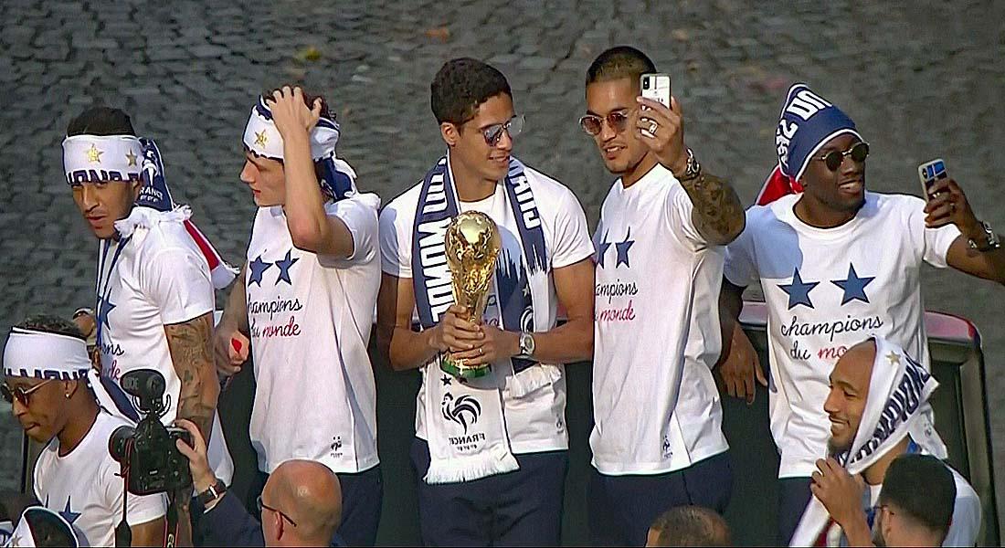 Ligue des nations: les bleus de retour au Stade de France après le sacre du mondial
