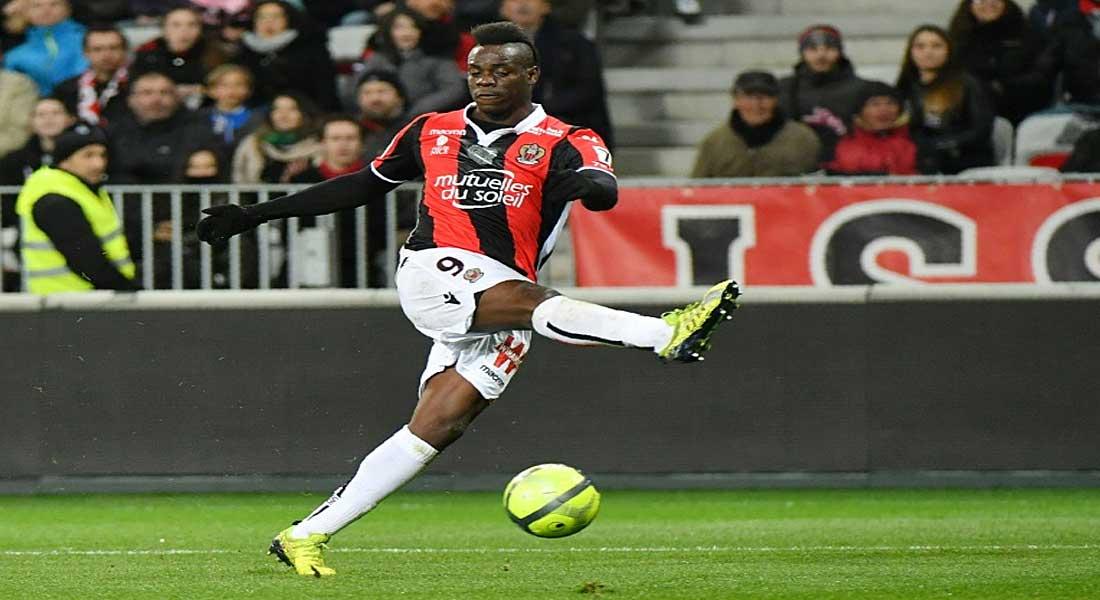 Ligue 1: Balotelli portera toujours les couleurs de l'OGC Nice