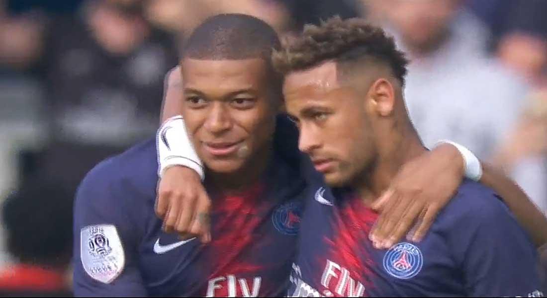 Mbappé Neymar