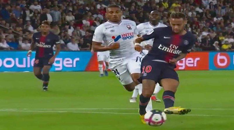 Ligue 1 conforama : Paris SG 3 – Caen 0, les Parisiens sans forcer, vidéo