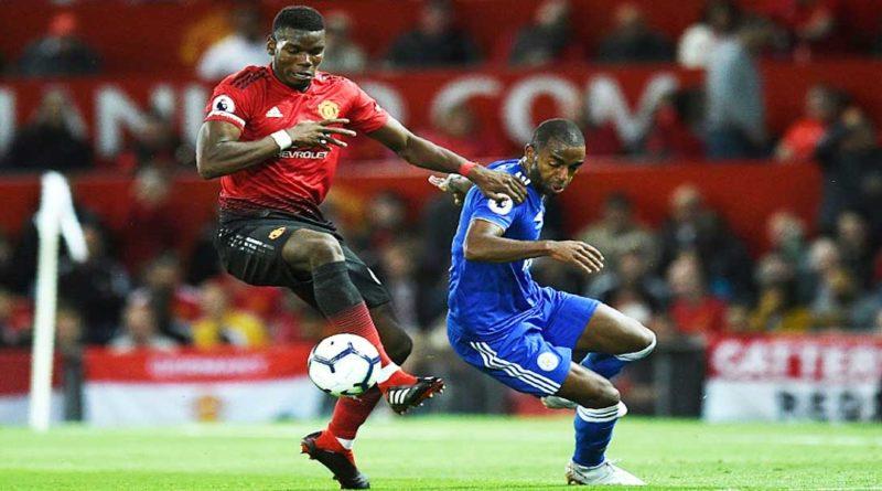 Premier League :  Manchester United 2 – Leicester City 1, Pogba buteur, vidéo