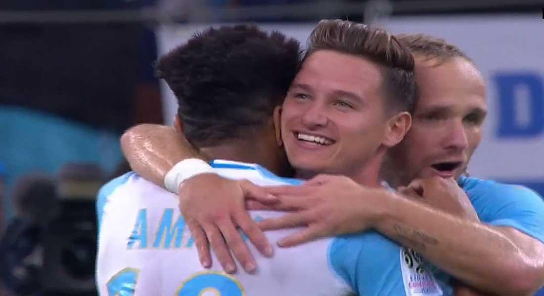 Ligue 1 conforama 1ere j : Marseille 4 – Toulouse 0, la balade Marseillaise, vidéo