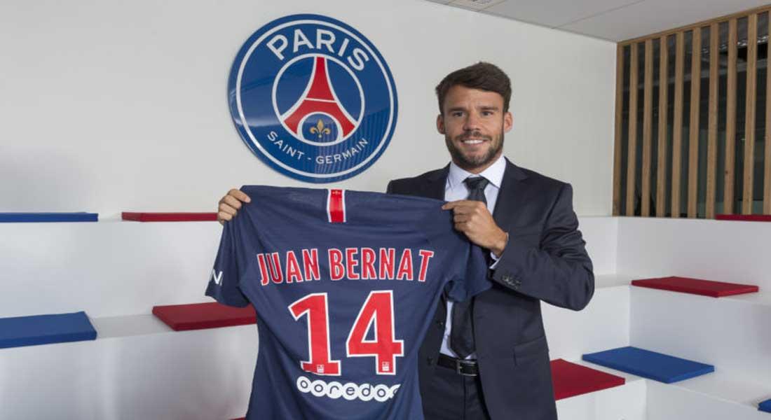 Transfert : Juan BERNAT rejoint le Paris SG pour quatre saisons