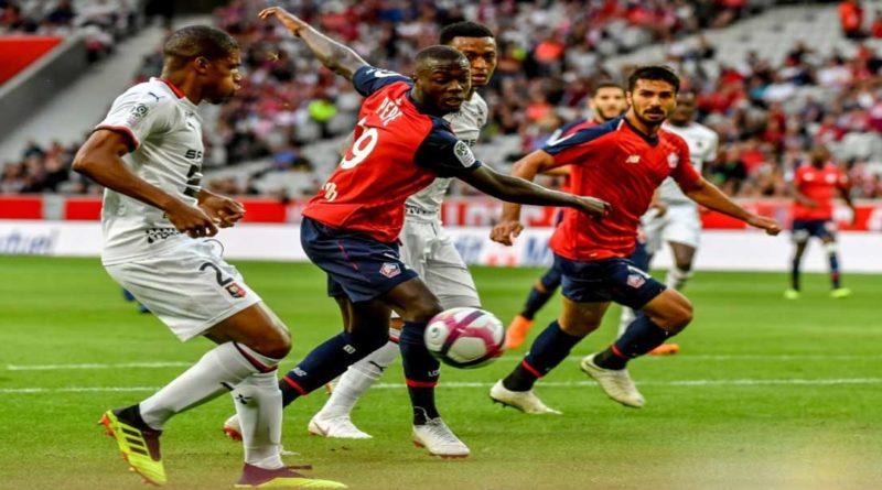Ligue 1: Bon début de Lille en ligue 1 conforama face à Rennes (3/1)