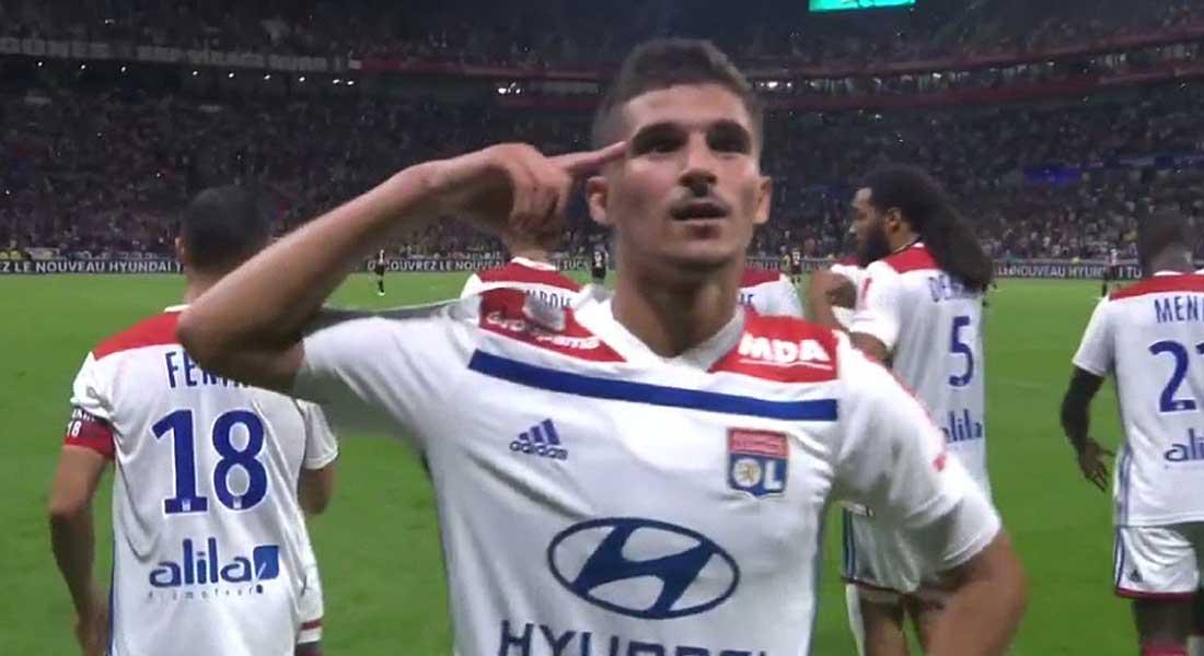 Ligue 1: Lyon 4 – Marseille 2 ,  vidéo des buts