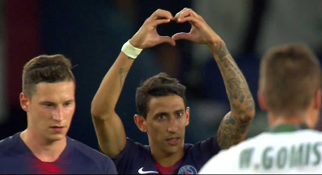 Ligue 1 : Paris SG 4 – AS Saint-Etienne 0, les parisiens affûtent les armes avant le match face à Liverpool, vidéo