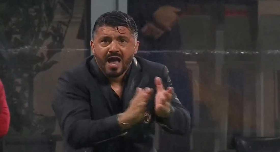 Calcio : l'AC Milan s'offre l'AS Rome à la dernière seconde du match, vidéo