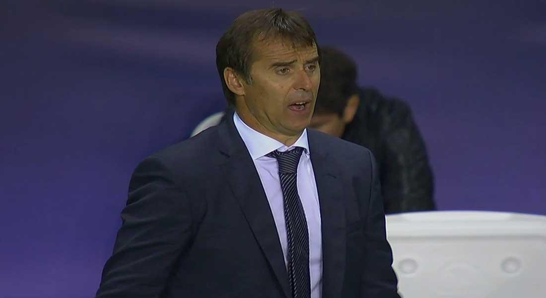 """Liga : """"J'espère continuer à respirer"""" après Barça-Real, grince Lopetegui"""