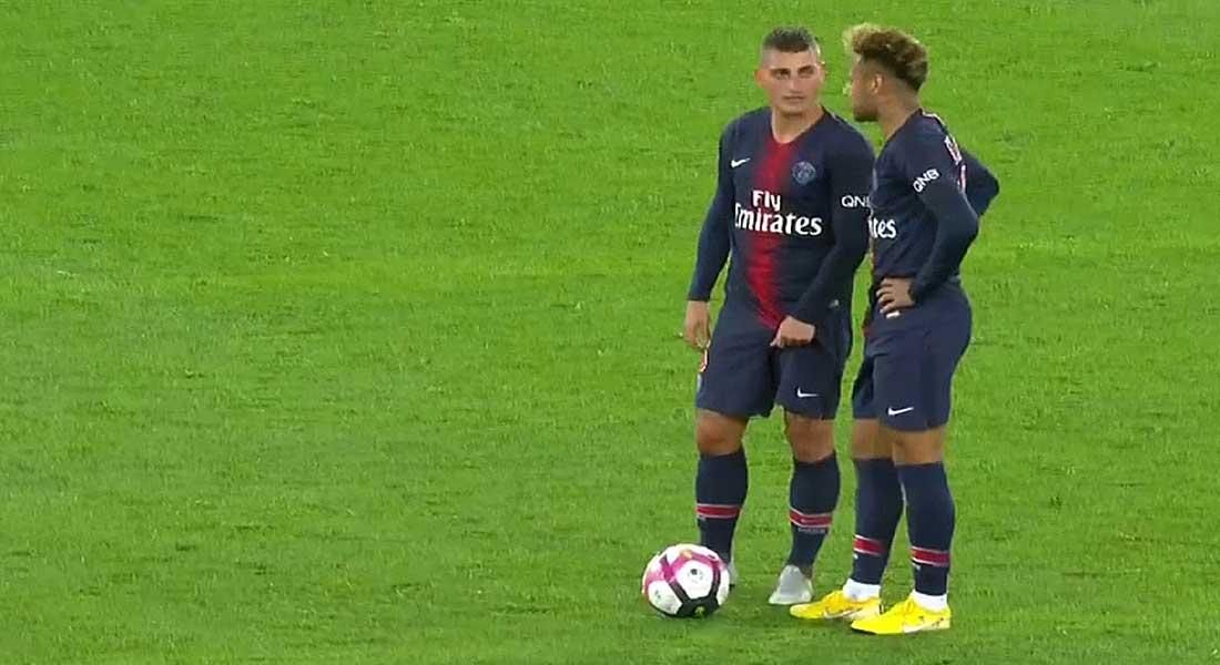 Ligue 1 : Le PSG s'offre Reims sur un score de 4-1 , vidéo