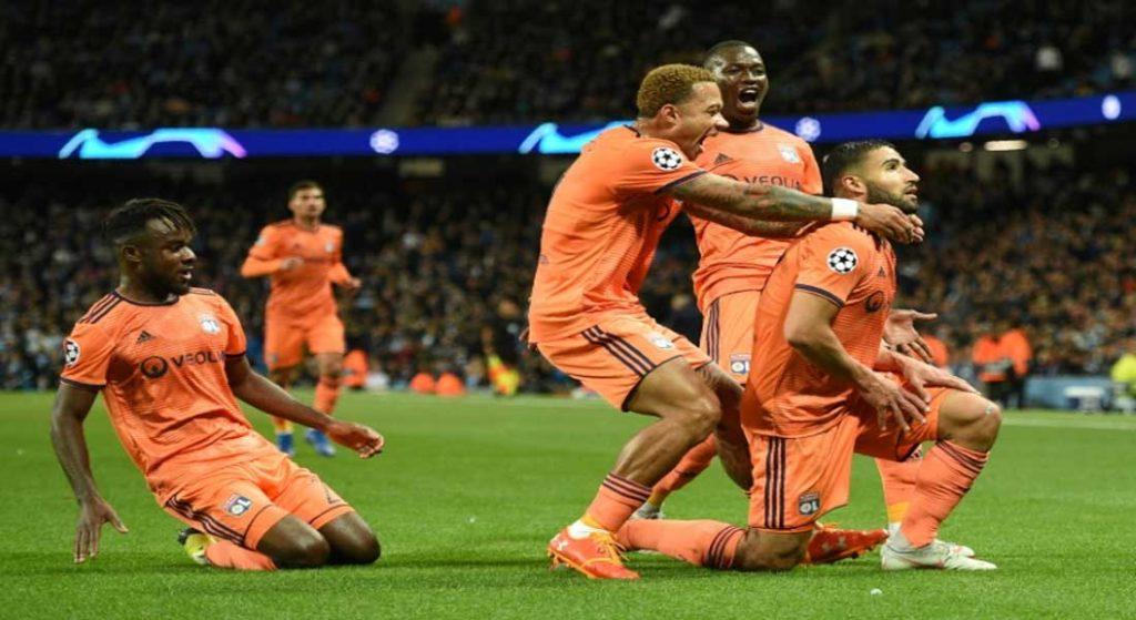 C1 : Manchester City 1 – Lyon 3