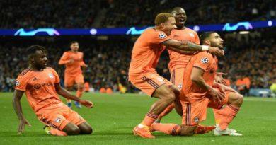 Ligue des Champions : Manchester City 1 – Lyon 2, vidéo