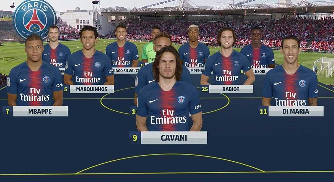 Ligue 1: Rennes 1 – Paris SG 3 , 5/5 pour Tuchel , vidéo