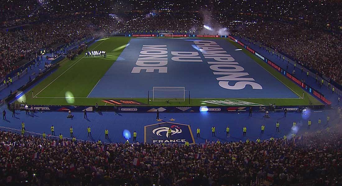 Ligue des nations : La France bat le Pays-Bas 2-1 et fête son sacre au mondial au SDF, vidéo