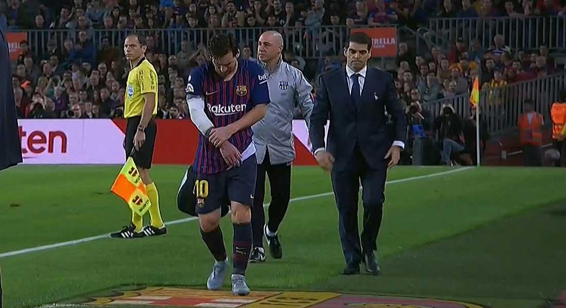 Liga : Le FC Barcelone gagne 4/2 face au FC Seville, mais perd Messi pour 3 semaines; vidéo