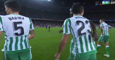 Le Betis de Seville s'offre le Barça au Camp nou sur le score de 4/3, vidéo des buts