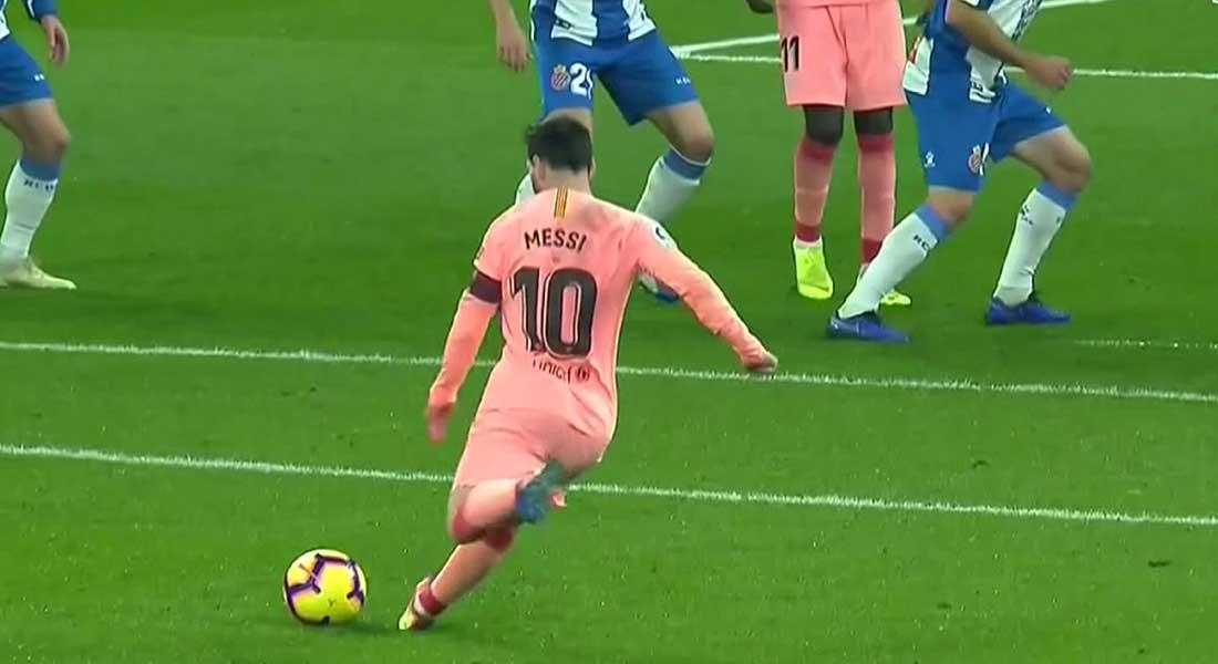 Le FC Barcelone atomise l'Espagnol de Barcelone 4/0, avec deux chef d'oeuvres de Messi et de Dembélé, vidéo
