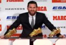 Meilleur buteur, Messi reçoit son 5 éme soulier d'or