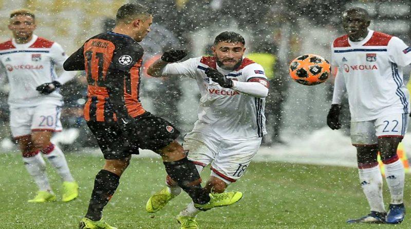 C1: Lyon  dans le Top 16 européen, après 7 ans d'absence ,  Shakhtar 1 – Lyon 1, vidéo