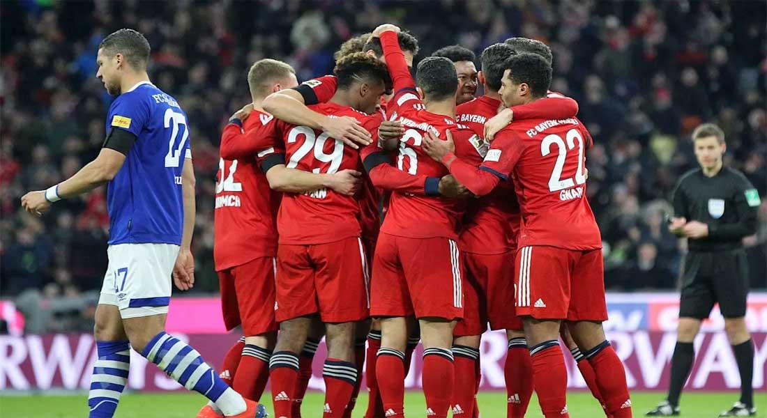 Bundesliga : Bayern Munich 3-Schalke04 1, Les Bavarois réduisent l'écart à 5 points avec Dortmund, vidéo