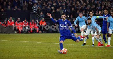 Ligue des Champions : Les images du match Schalke04 – Manchester City