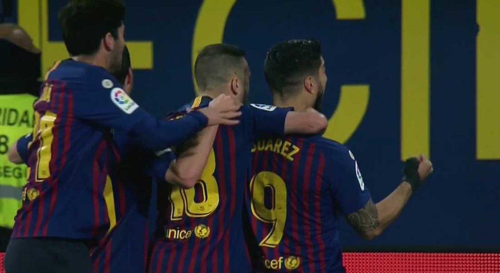 Liga : FC Barcelone 2 – Atlético Madrid 2