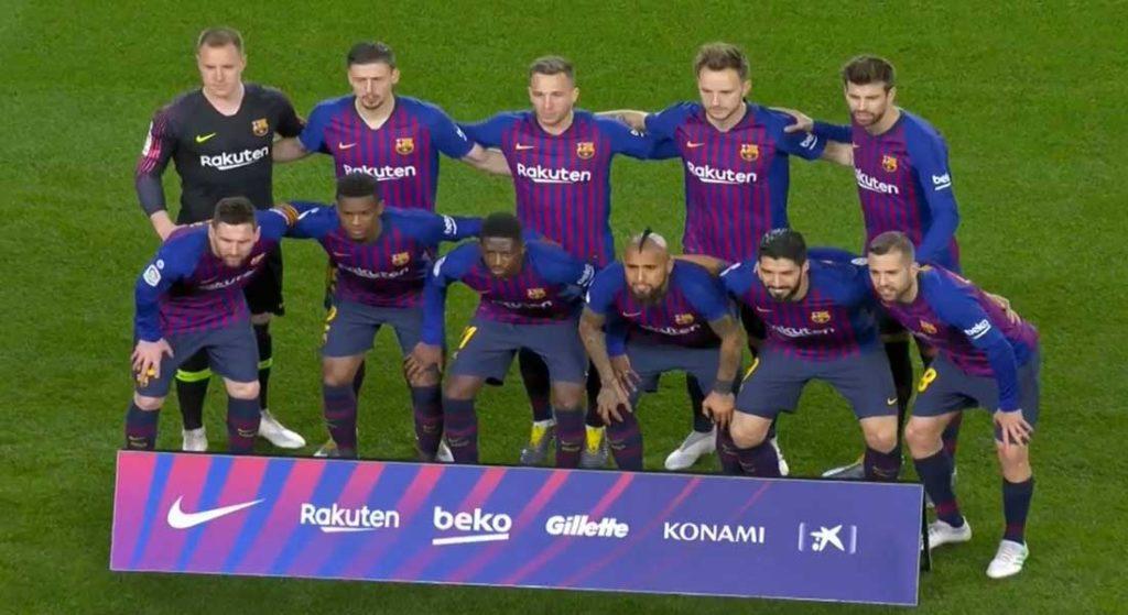 Liga : FC Barcelone 5 – Valladolid 1