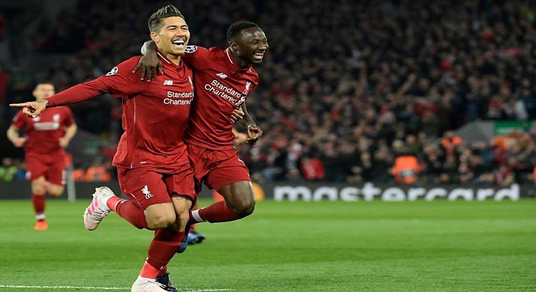 LDC: Liverpool bat Porto 2-0 et se rapproche des demi-finales