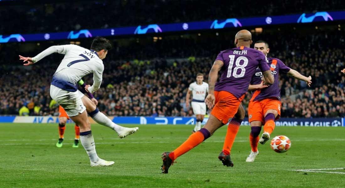 Ligue des champions: Tottenham bat Manchester City 1-0 mais perd Kane