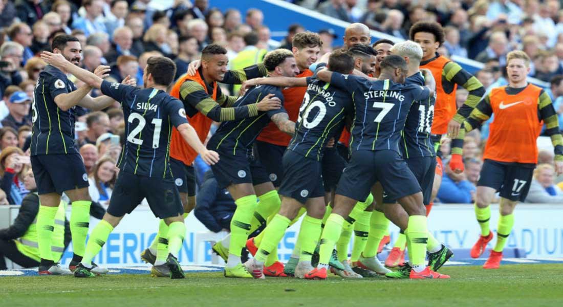 Premier League : Manchester City remporte son 4 éme titre depuis 2012
