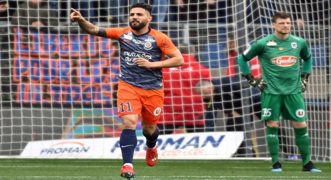 France :Lyon battu pour la première fois de la saison à Montpellier, 1 à 0