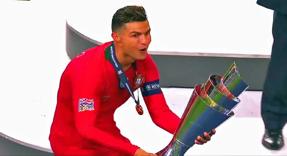 Euro 2020 : Le Portugal bat la Lituanie 5-1 avec un quadruple de CR7
