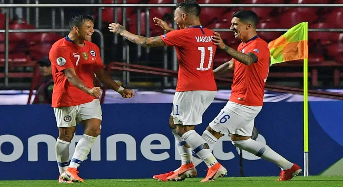Copa América: Bon début du Chili