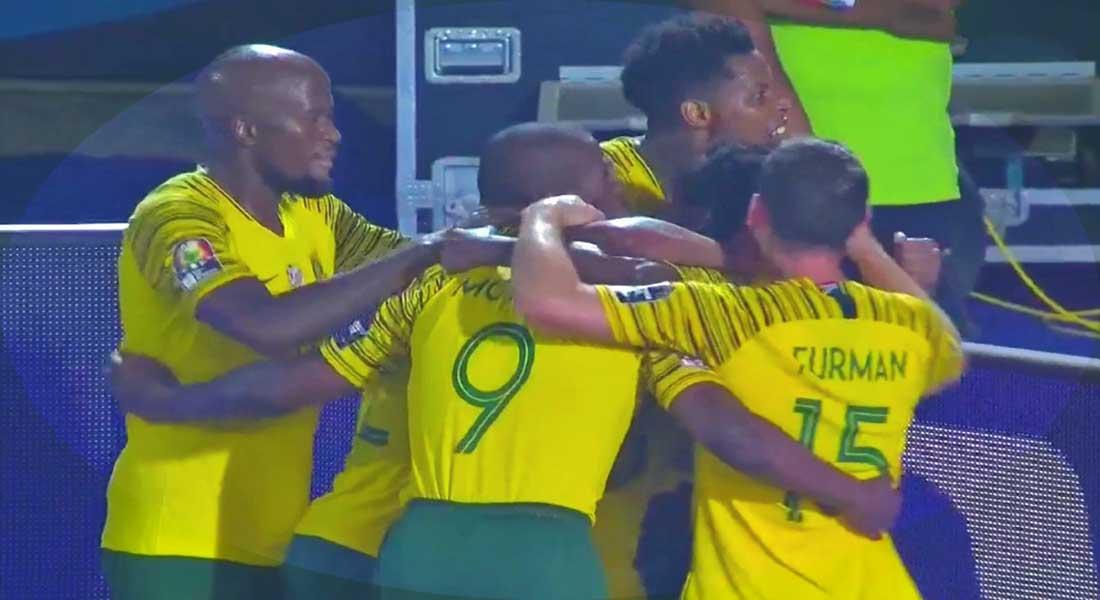 CAN 2019 : L'Egypte quitte la compétition face à l'Afrique du sud, vidéo