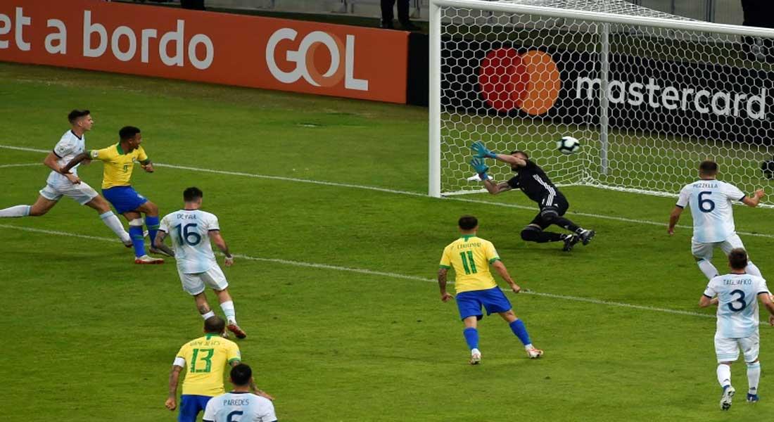 Copa Ameria : Le Brésil bat l'Argentine 2-0 et file en finale , vidéo